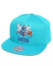 Mitchell & Ness - Charlotte Hornets NBA HWC / Current Arched Diamond Logo Snapback Hat