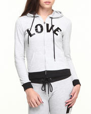 Women - Love Colorblock Active Zip-up Hoodie