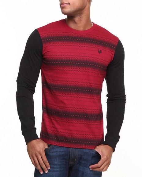 Zoo York Red Blender L/S Shirt