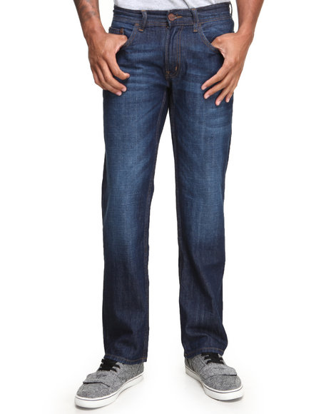 Akademiks - Men Medium Wash Akademiks Classico Denim Jeans