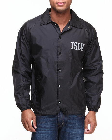 JSLV Black Practice Nylon Coach Jacket