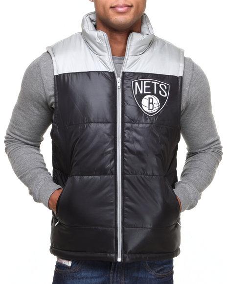 Mitchell & Ness Black Brooklyn Nets Nba Winning Team Vest