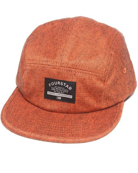 Fourstar 2-Tone Camp 5-Panel Hat Orange