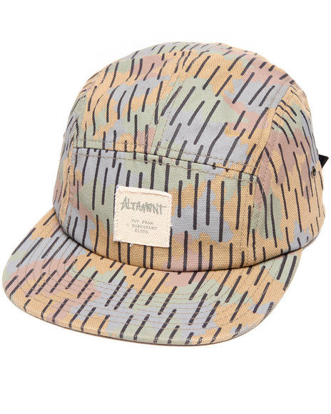 Altamont Men Cointel 5-Panel Camp Hat Camo