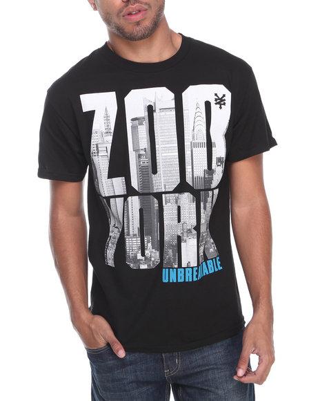 Zoo York - Men Black Heavy Z Tee