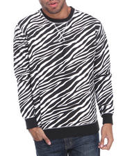 Men - Zebra Fleece Sweat Shirt