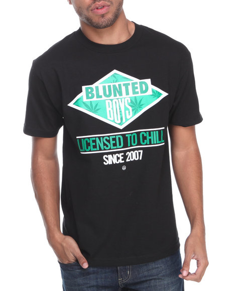 JSLV Black Licensed Tee