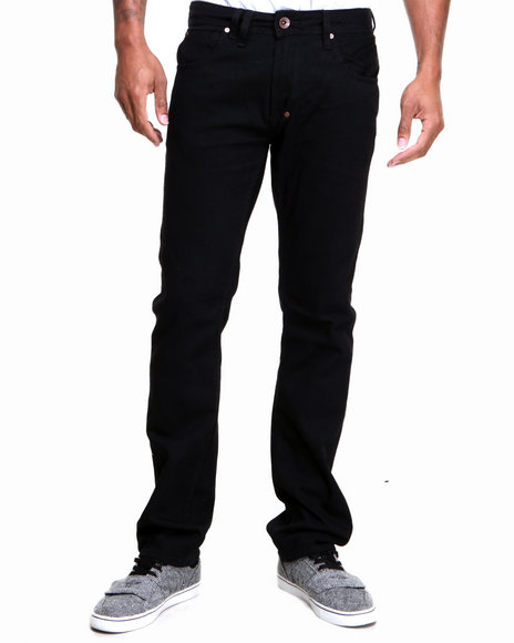 AKOO Black Big Oak Jeans