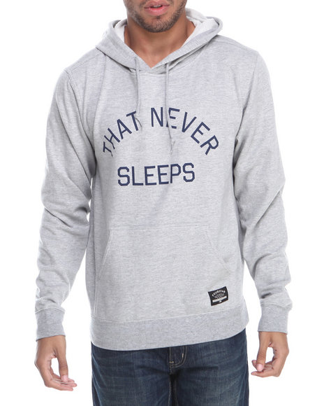 Fourstar Grey Four Cities New York Pullover Hoodie