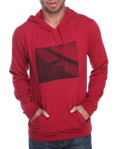 Fourstar Red Photo Print Pullover Hoodie