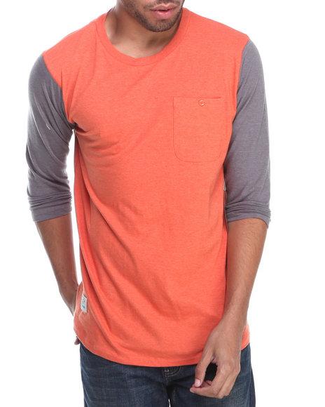 Fourstar Orange Malto 3/4 Sleeve Knit Tee