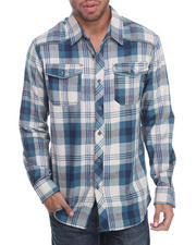 Men - Double faced L/S Button down shirt