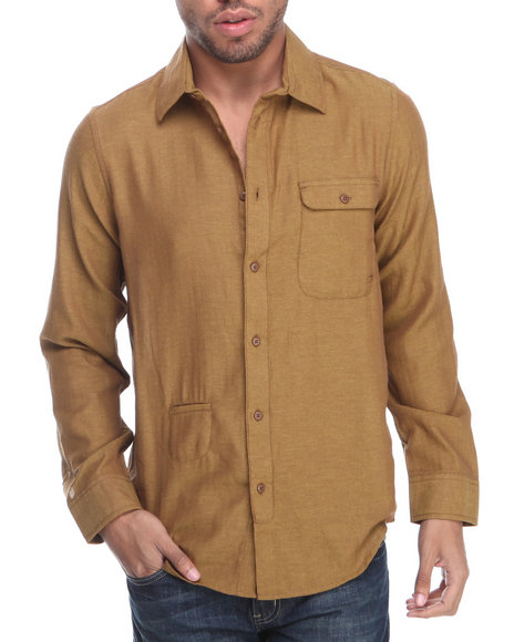 Altamont Brown Operate L/S Button-Down