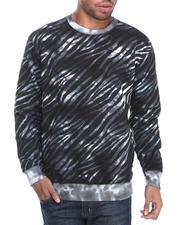 Basic Essentials - Tie Dye Printed Crewneck Sweatshirt