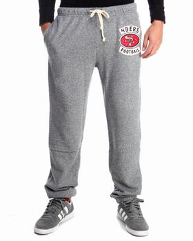 NBA, MLB, NFL Gear - San Francisco 49ers Sunday Sweatpants with Patch