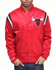 NBA, MLB, NFL Gear - Chicago Bulls NBA Division Satin Jacket