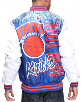 NBA, MLB, NFL Gear - New York Knicks NBA Sublimated Jacket