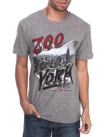 Zoo York - Men Grey Zy Ripper Tee