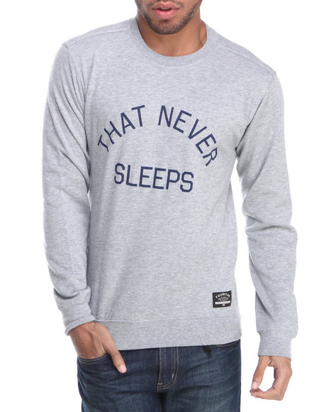 Fourstar Grey Four Cities New York Crew Sweatshirt