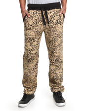 Buyers Picks - Leopard Print Fleece Sweat Pants