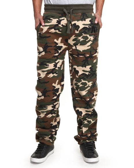 Akademiks Camo Mission Camo Fleece Pant