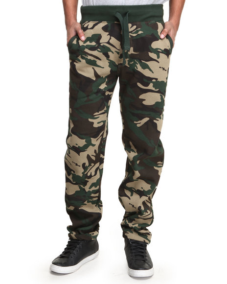 Buyers Picks - Men Camo Camo Fleece Sweat Pants