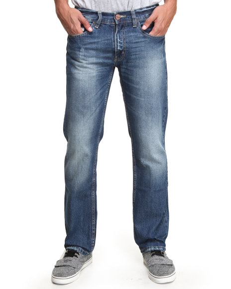 Akademiks - Men Blue Akademiks Cool Blue Denim Jeans