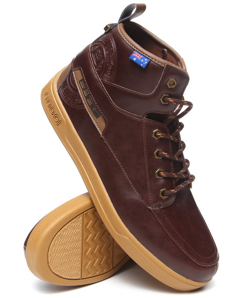 Coogi - Men Brown Edmonds Lace-Up Boot
