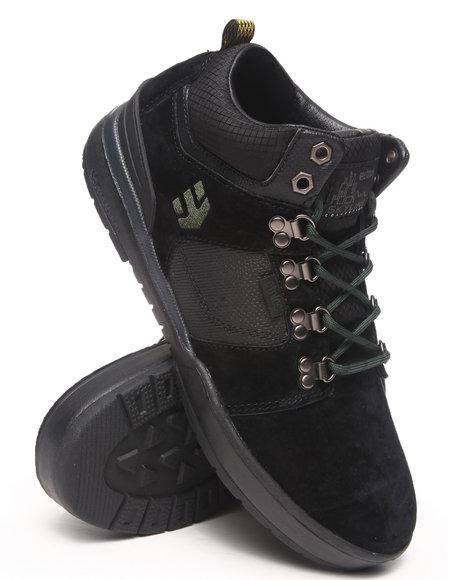 Etnies Black Hi Rise Water Resistant Sneakers