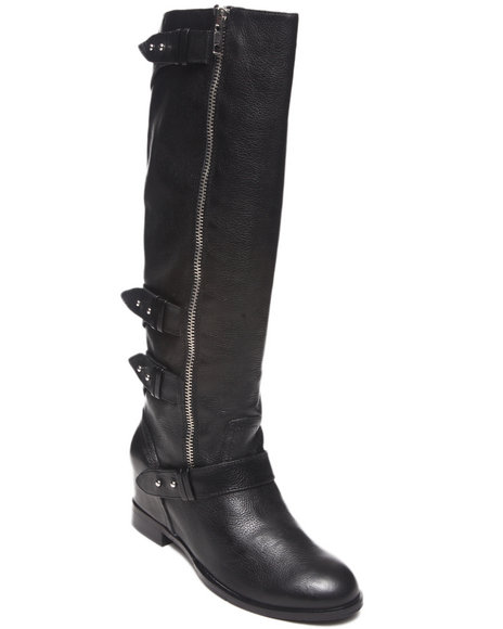 Dv By Dolce Vita - Women Black Marney Moto Boot
