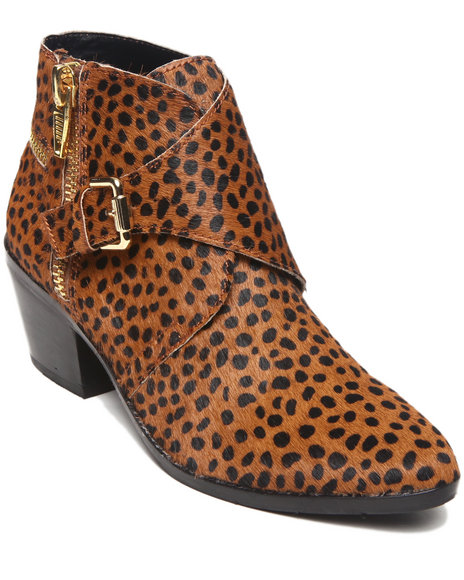 Dv By Dolce Vita - Women Animal Print Kenzie Bootie
