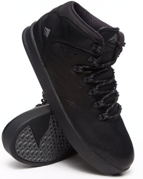 Emerica Black Reynolds Lx Black Ops Premium Water Resistant Sneakers