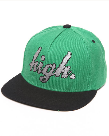 Odd Future Apparel Domo High Clouds Snapback Hat Green