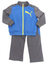 Boys - CAT COLOR BLOCK TRICOT SET (4-7)