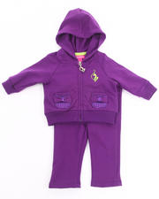 Girls - 2 PC FRENCH TERRY SET (NEWBORN)