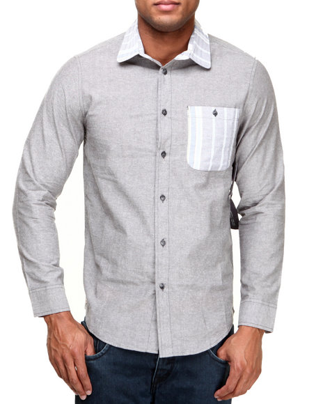 Altamont Grey Button-Downs