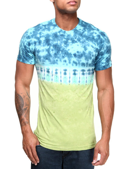 Altamont - Men Multi Trile Tie-Dyed Tee