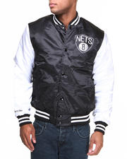 NBA, MLB, NFL Gear - Brooklyn Nets NBA Sublimated Jacket