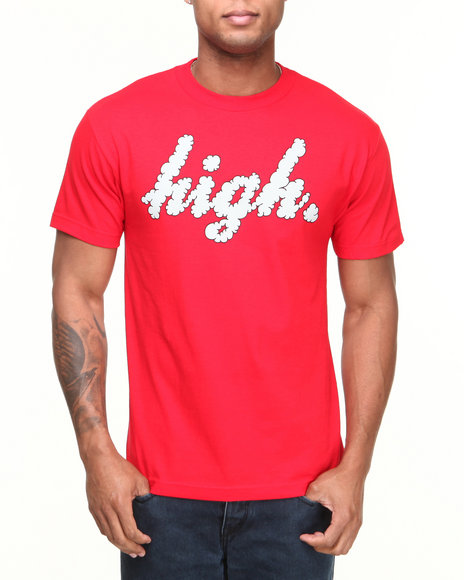 Odd Future Apparel Red High Clouds Tee