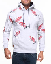 Buyers Picks - US flagbird print pullover Hoody