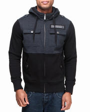 Men - Darkness Hooded Fleece Jacket