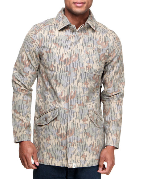 Altamont - Men Camo Caliper Camo Jacket - $76.99