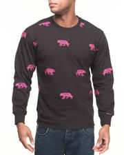 Buyers Picks - Tiger Embroidery Crewneck Sweatshirt
