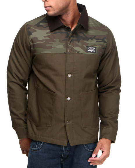 Fourstar - Men Brown Trujillo Jacket - $71.99