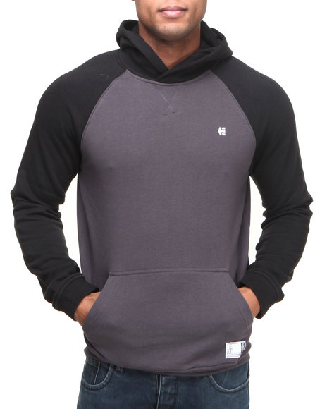 Etnies Charcoal Classic Pullover Hoodie