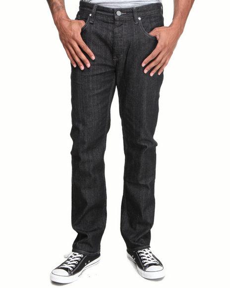 Altamont - Men Raw Wash Wilshire Premium Japanese Denim Straight Fit Jeans - $40.99