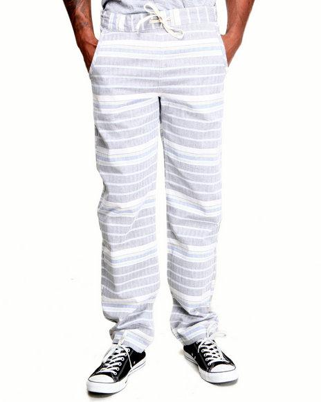Altamont Grey Yome Slim Fit Herringbone Pants