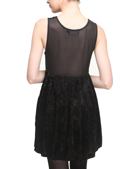 Minkpink - Women Black Seeing The Ex Dress