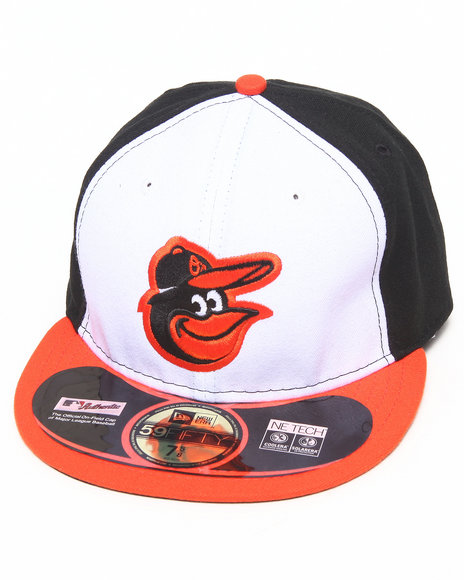 New Era - Men Multi Baltimore Orioles Game Authentic 5950 Fitted Hat
