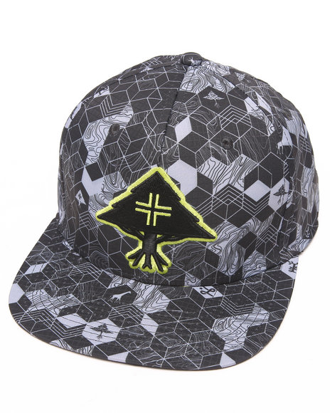 Lrg Retro Eternity Ripstop Hat Black
